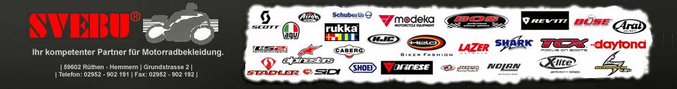 | SVEBU Motorradbekleidung | Motorradstiefel | Motorradbekleidung | Lederkombi