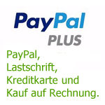 Logo 'PayPal empfohlen'