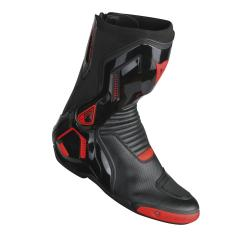 DAINESE COURSE D1 OUT AIR STIEFEL SCHWARZ/NEONROT