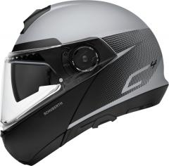 SCHUBERTH KLAPPHELM C4 RESONANCE MATT/GRAU/SCHWARZ