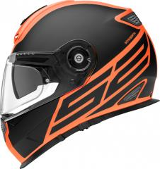 SCHUBERTH S2 SPORT TRACTION MATT/SCHWARZ/ORANGE