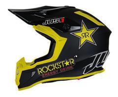 JUST1 J38 ROCKSTAR SCHWARZ/GELB