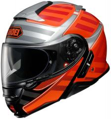 SHOEI NEOTEC II SPLICER TC-8 ORANGE/SILBER/SCHWARZ