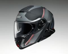 SHOEI NEOTEC II EXCURSION TC-5 MATT/SCHWARZ/GRAU/ROT