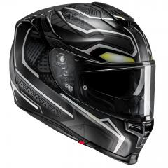 HJC RPHA 70 MARVEL BLACK PANTHER MC5SF MATT/SCHWARZ/WEIß