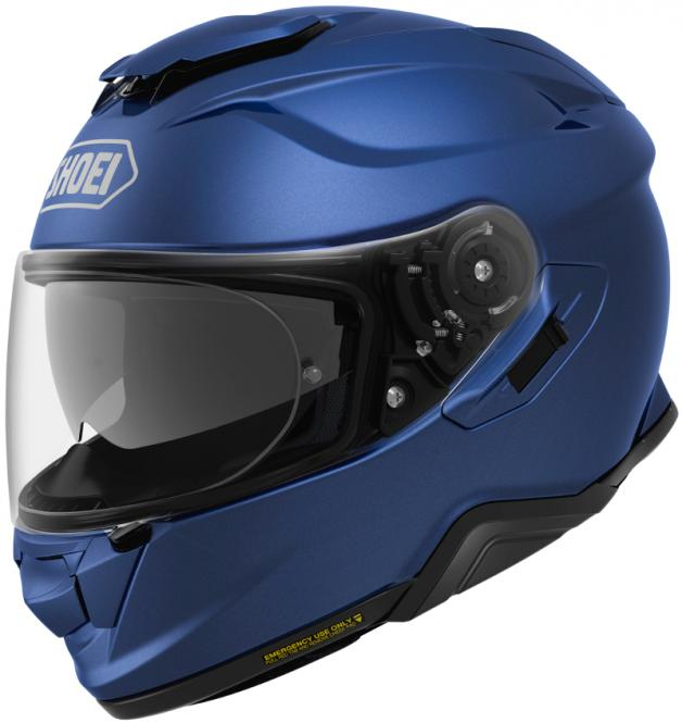 SHOEI GT-AIR II MATT/BLAU/METALLIC