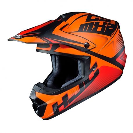 HJC CS-MX II OFFROAD ELLUSION MC7SF MATT/ORANGE/SCHWARZ