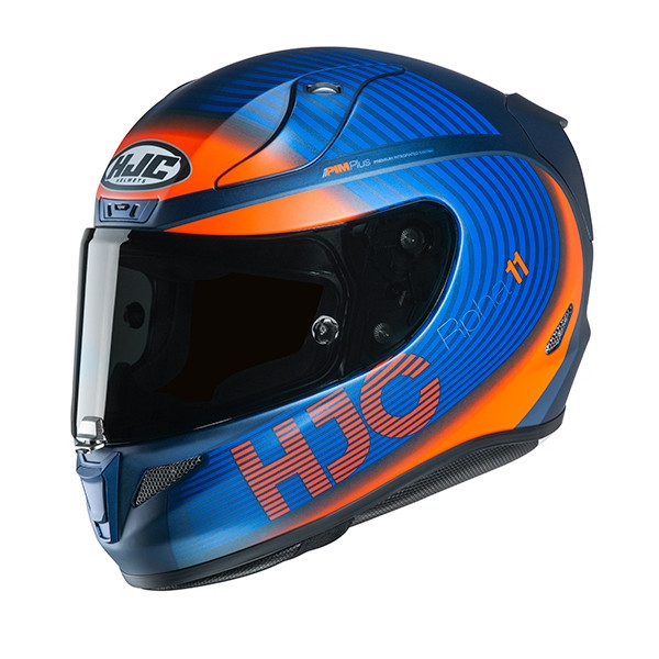 HJC RPHA 11 BINE MC27SF MATT/BLAU/ORANGE
