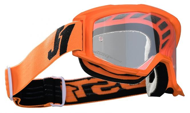 JUST1 VITRO MX-GOGGLE CROSSBRILLE ORANGE/SCHWARZ