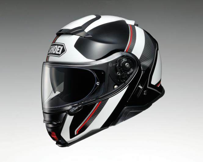 SHOEI NEOTEC II EXCURSION TC-6 SCHWARZ/WEIß/ROT