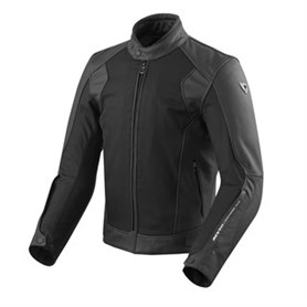 REVIT DYNAMIC IGNITION 3 LEDER-/TEXTILJACKE SCHWARZ