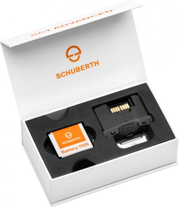SCHUBERTH SC1 ADVANCED C4/R2 COMMUNICATION SYSTEM SCHWARZ